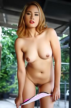 Nice Asian Model Winny Sung Striptease