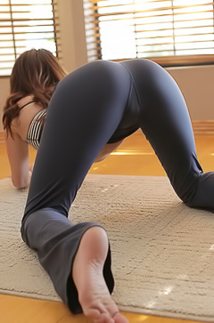 Flexible beauty Jayden Taylors
