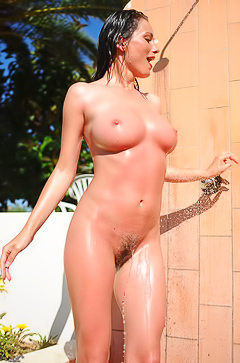Kyla Cole Gets Dirty In The Outdoor Shower