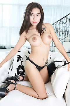Busty Asian Linlin